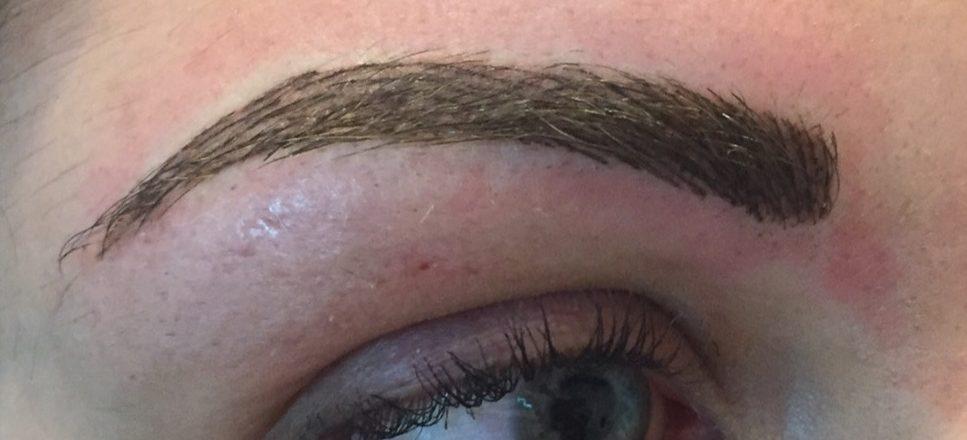 Combination brow